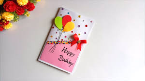 Handmade Birthday Card Designs For Husband Beautiful Handmade Birthday Card Idea Diy Greeting Cards For Birthday