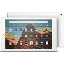 Máy tính bảng Amazon Kindle Fire HD 10 - 2019 (9th generation) - 32GB Trắng  - Xaha Store