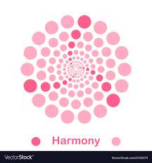 Harmony In Design Imple Harmony Spiral Logo Conception