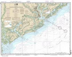 Charleston Harbor Chart 11524 11521 Charleston Harbor And Approaches Nautical Chart