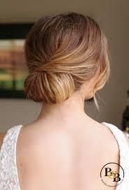 Wedding Hair Low Chignon Casual Bridal Chignon Soft Romantic