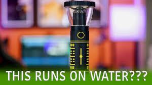 Hydro Light Flashlight Review Hydralight Flashlight Water Powered