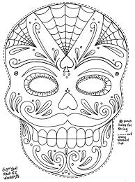 Small Picture 409 best Masques images on Pinterest Masks Coloring books and