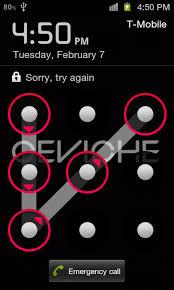 Forgot Unlock Pattern