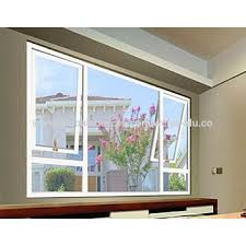 china european style aluminium top hung window with two panel from foshan factory