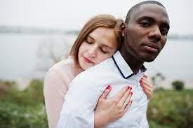 African Man White Woman