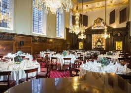 searcys at vintners hall the livery hall private dining image round tables