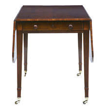 or best offer 19th century regency rosewood pembroke table