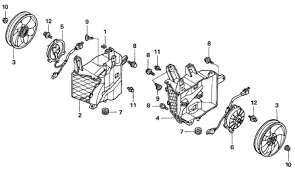 gl 1800 wiring diagram 2005 honda goldwing gl1800 cooling fan schematic diagram