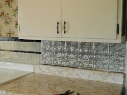 Diy Tile Backsplash Kitchen Easy Diy Self To Self Stick Kitchen Backsplash Tiles Home And