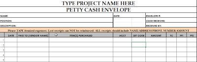 petty cash reimbursement template petty cash entry template help center