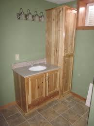 Bathroom Cheap Vanity Cabinets Hickory Bathroom Vanity