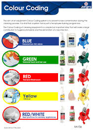 Bics Colour Coding Chart A Colour Coding System And Infection Control For Cleaners