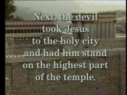 Image result for the temptation of jesus in the bible