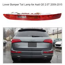 Audi Q5 Rear Lights Us 34 63 42 Off Rear Left Right Side Tail Light Lower Bumper Tail Lamp For Audi Q5 2 0t 2009 2015 In Car Light Assembly From Automobiles
