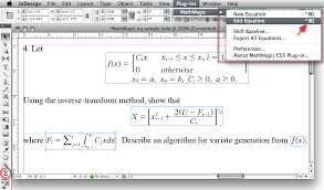 mathmagic pro edition for adobe indesign is an equation editor mainly for use with adobe indesign in editing any mathematical expressions and