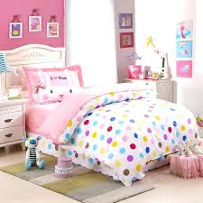 cute bed sheets polka dot bedding sheets kids colorful cute comforter sets twin size bedroom set