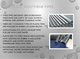 Types Of Pipes Types Of Pipes