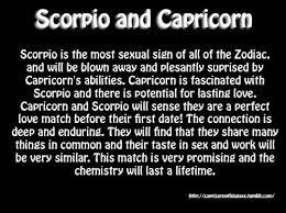 Scorpio And Capricorn Compatibility Chart 12 Quotes About Scorpio Capricorn Relationships Scorpio