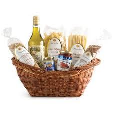 gift basket ideas wine olive oil fine pasta sauce olives bread jam