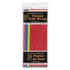 Assorted Color Tissue Paper Sheets 10pk Walmart Com