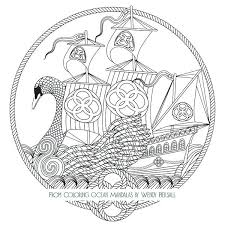 ocean coloring book also swan boat from coloring ocean mandalas for produce astonishing lost ocean coloring