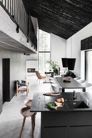Black and White Swedish House Design