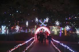 Garden Of Lights 2017 Muskogee Spotlight Light Displays New Years Eve Miss Saigon And