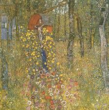 Country Garden with Crucifix, 1911 by Gustav Klimt