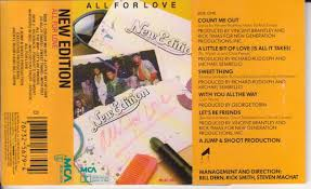 new edition all for love. Beautiful Love On New Edition All For Love T