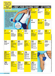 30 day challenge to banish bingo wings