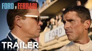 Ford V Ferrari Official Trailer 2 Hd 20th Century Fox Youtube