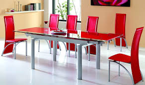 black and red dining set awesome khadenrugs interior design 15