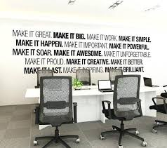 decoration wall decor for offices home t07061 kids room decoration stickers inspirational quotes and 13 on corporate office wall art ideas with wall decor for offices warm great office awesome art corporate 11