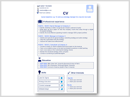 Powerpoint Resume Download Professional CV Resume Templates in Word Powerpoint 21