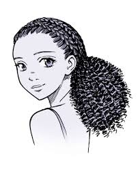 Hair Style Anime drawing anime hair for male and female characters impact books 3406 by wearticles.com