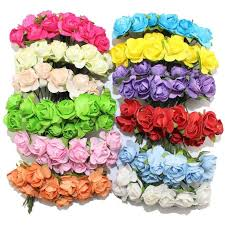 Buy Paper Flower 2019 Artificial Paper Flowers Wedding Decoration Fake Roses Used For Decoration Candy Box Diy Wreath Handmade From Weaving_web 1 83 Dhgate Com