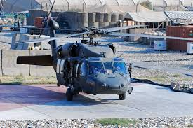 u s department of defense photo essay  a uh 60l black hawk helicopter prepares to depart the forward arming and refueling point