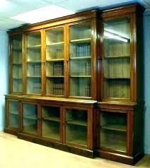 bookshelf with glass doors bookshelf glass doors bookcases with glass doors solid wood bookshelf with glass bookshelf with glass doors