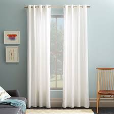 Curtain: 10 outstanding decoration use white panel curtains ...