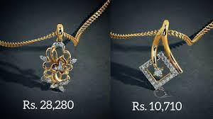 Diamond Gold Locket Designs Diamond Gold Pendants Designs With Price By Bluestone