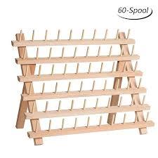 haitarl 30 spool sewing thread rack
