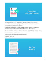 9 School Checklists For Teachers And Administrators To Bring Order To
