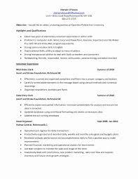 Volunteer Experience On Resume Sample Elegant Volunteer Experience