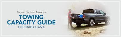 Honda Towing Capacity   2019-2020 Model Guide by Germain Honda