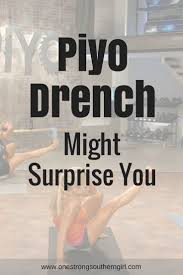 a review of piyo drench this workout