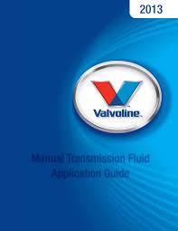 Np2500 V 8070 Manual Transmission Fluid Application Guide 6 6 13
