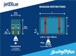 jet blue bage allowance