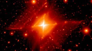 Astrónomos hallan una simetría casi perfecta en una estrella moribunda