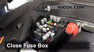 replace a fuse 2009 2012 chevrolet traverse 2012 chevrolet 6 replace cover secure the cover and test component